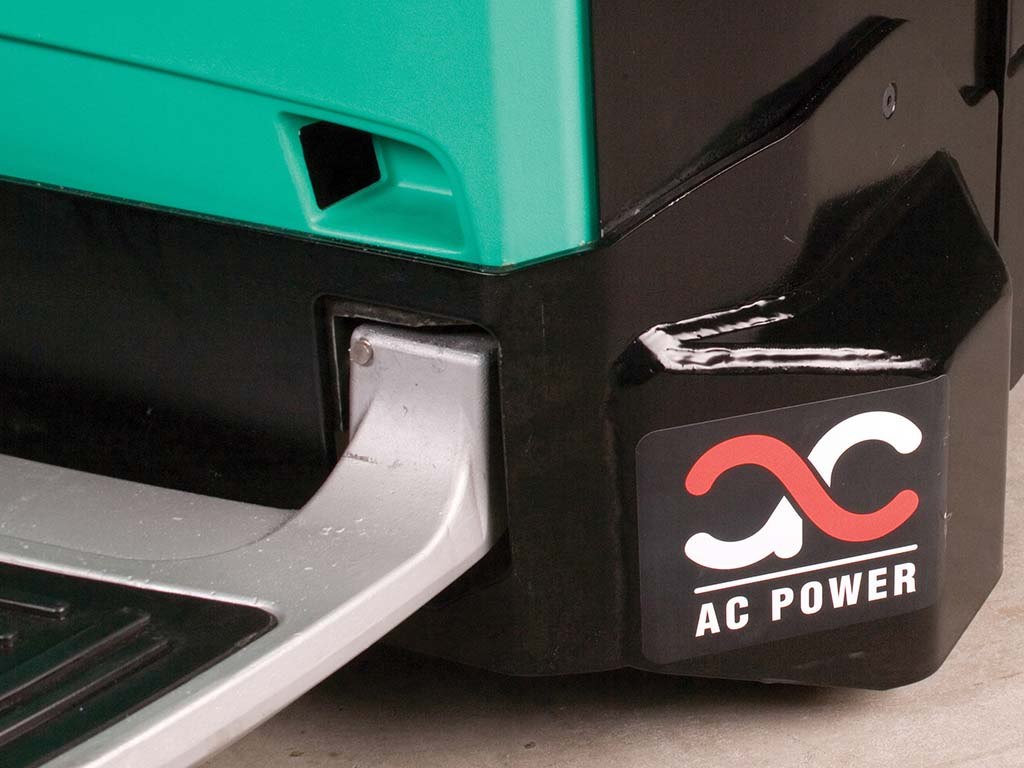 Kraftfuld AC-drivmotor