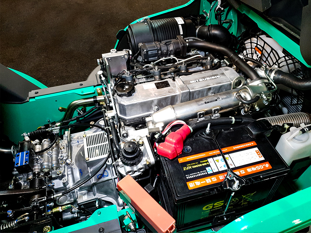 Geavanceerde dieselmotor die voldoet aan de Euro Stage V-emissienorm