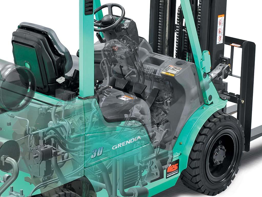 Mitsubishi Forklift Trucks Hydraulic Control Valve Diagram Mast