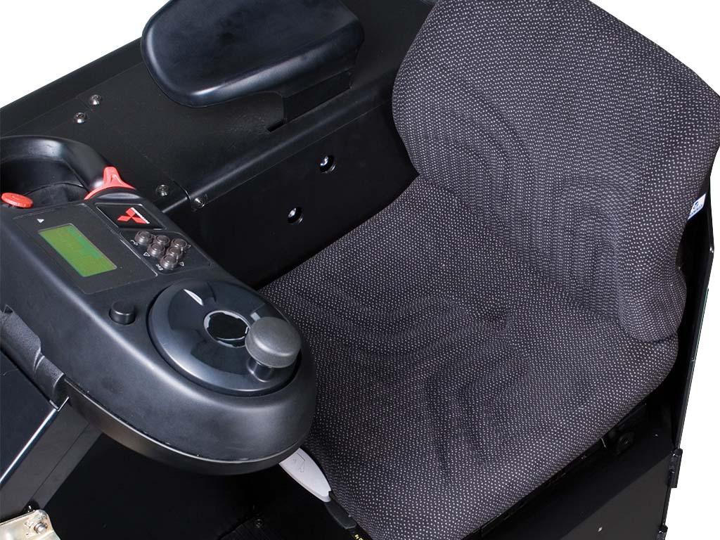 Volledig geveerde, volledig verstelbare stoel