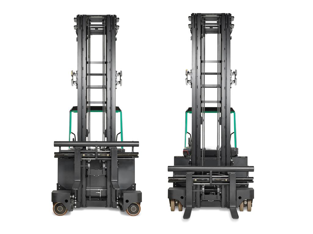 Capaciteit van 2000 kg of 2500 kg