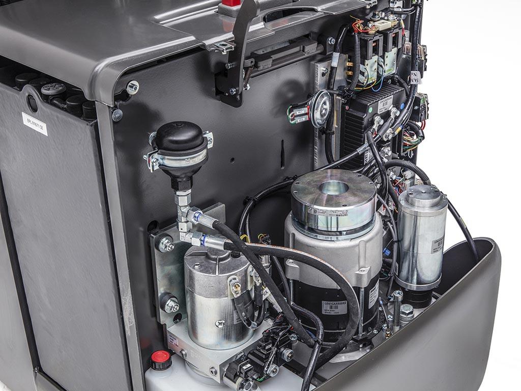 Krachtige AC-techniek motor