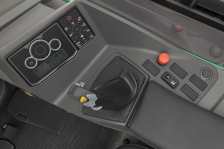 Ergologisk multifunktions-joystick
